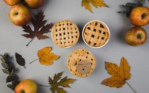 Picture apples, Autumn, cupcakes