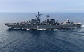 Picture cruiser, rocket, The Mediterranean sea, The Vikings