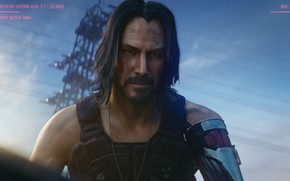 Picture keanu reeves, cd project red, cyberpunk 2077