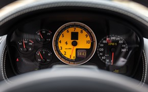 Picture Ferrari, F430 Spider, The instrument panel