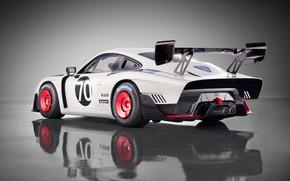 Picture Porsche, supercar, rear view, 2018, 935