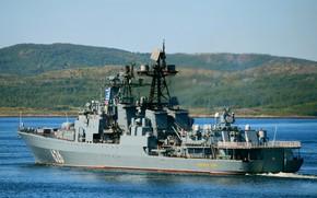 Picture ship, large, anti-submarine, project 1155, Vice Admiral Kulakov