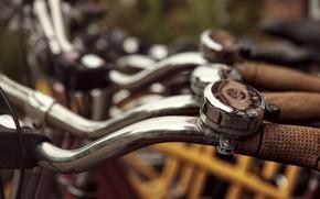 Picture bike, street, the wheel
