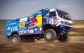 Picture Auto, Sport, Machine, Speed, Truck, Race, Master, Russia, Kamaz, Rally, KAMAZ-master, Rally, KAMAZ, RedBull, Master, …