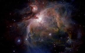 Picture Nebula, Messier 42, Orion, M 42, NGC 1976, VLT Survey Telescope, VLT, Constellation of Orion, …