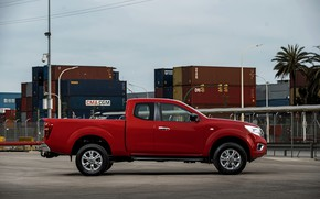 Picture Nissan, pickup, containers, Navara, 2019, King Cab