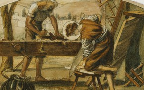 Picture carpenters, Arthur Hughes, Youth Of Christ