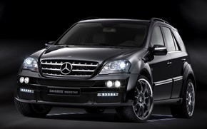 Picture Mercedes-Benz, Brabus, Widestar, W164, the second generation SUV M-class