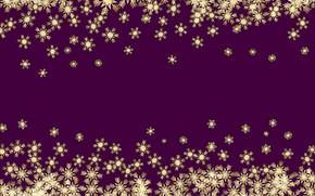Picture winter, snowflakes, background, gold, New Year, Christmas, golden, gold, Christmas, winter, background, New Year, snowflakes