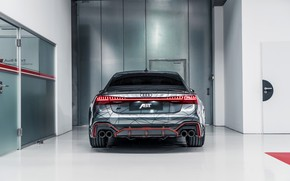 Picture Audi, rear view, ABBOT, RS 7, 2020, RS7 Sportback, RS7-R