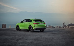 Picture Audi, the evening, rear view, crossover, Sportback, 2020, RS Q3