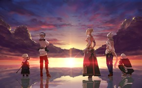 Picture Sunset, The game, final fantasy xiv, Characters