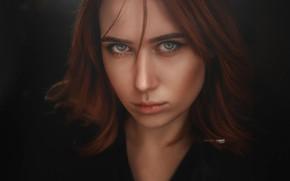 Picture look, girl, face, portrait, Elvira, Alexander Drobkov-Light