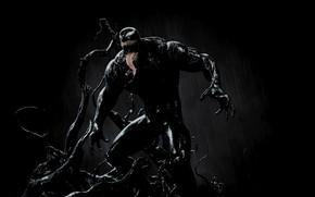 Picture pose, body, stand, Venom, Venom, symbiote