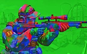 Picture green, toxic, 'CS:GO'