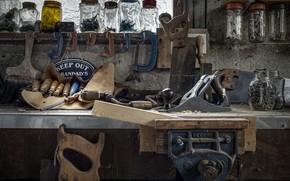 Picture background, instrumento, workshop, naturalism