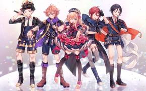 Picture characters, Touken Ranbu, Dance Of Swords