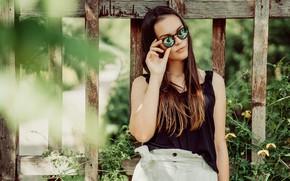 Picture summer, girl, portrait