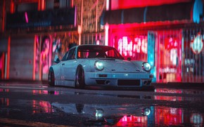 Picture Auto, White, Machine, Style, Car, NFS, Art, Porsche 911, Style, Need For Speed 2015, Porsche …
