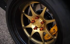 Picture Disk, Wheel, Nissan, 240SX, 1996, Brake disc, Rocket Bunny kit, Nissan 240SX, Nissan 240SX (S14)