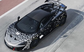 Picture coupe, McLaren, top, 2020, V8 twin-turbo, 620R, 620 HP, 3.8 L.