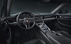 Picture Porsche, Panamera, salon, 2019, 10 Year Edition