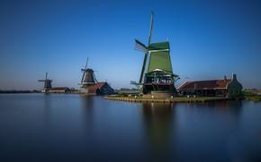 Picture mill, Netherlands, Zaanse Schans