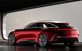 Picture Concept, rear view, Kia, 2017, Proceed