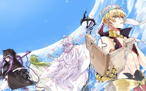 Picture the sky, characters, Fate / Grand Order, The destiny of a great campaign