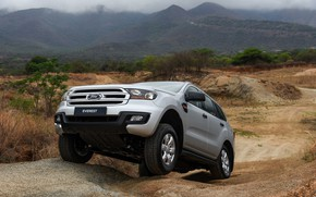 Picture earth, Ford, protection, the ground, Everest, 4WD, 2015, XLS