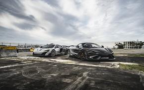 Picture McLaren, Black, Gray, 765 LT