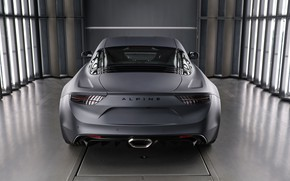 Picture rear view, Alpine, 2019, A110S