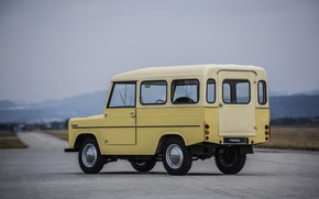Picture 1966, Skoda, Skoda, a lightweight off-road, three-door, Trekka