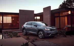Picture Volkswagen, yard, SUV, 2020, Atlas Cross Sport