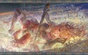 Picture fantasy, art, (王晖) Melissa Hui Wang, Raphtalia!
