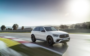 Picture Mercedes-Benz, crossover, GLC, Mercedes-AMG, 4Matic+, GLC 63S