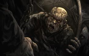 Picture horror, undead, Monty