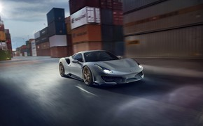 Picture Ferrari, sports car, containers, Novitec, 488, Pista