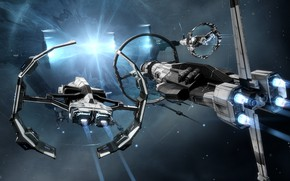 Picture nebula, the portal, Space, space, the gates, spaceship, eve online, space ship, coooper