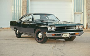 Picture Coupe, Plymouth, Old, Road Runner, 383 V8
