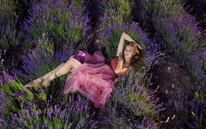 Picture look, nature, dress, legs, lavender, It Tan