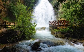 Picture river, stones, waterfall, stream, Playground, Serbia, resavica