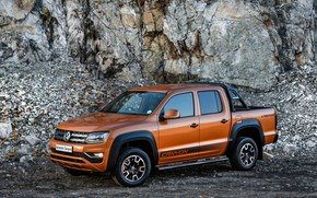 Picture Volkswagen, pickup, Amarok, Canyon, 2019, double cab