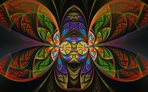 Wallpaper patterns, background, fantasy
