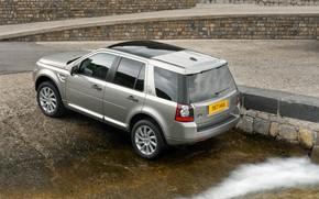 Picture shore, Land Rover, 2011, crossover, Freelander, SUV, HSE, Freelander 2, LR2, TD4