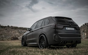 Picture rear view, 2018, BMW X5, crossover, X5M, Z Performance