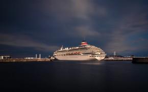 Picture Japan, port, liner, Yokohama, cruise
