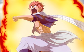 Picture guy, Natsu Dragneel, Fairy tail