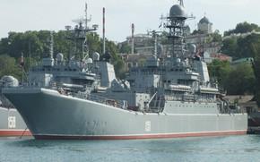 Picture ship, large, landing, Azov