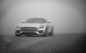 Picture mercedes, fog, AMG GTS